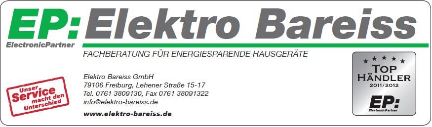 Bild zu Elektro Bareiss GmbH - EP: ElektronicPartner in Freiburg im Breisgau