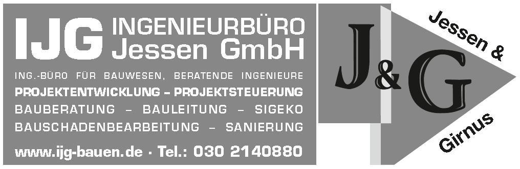 Bild zu IJG Ingenieurbüro Jessen GmbH in Berlin