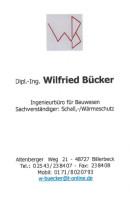 Dipl. Ing. Bücker Wilfried Billerbeck, Westfalen