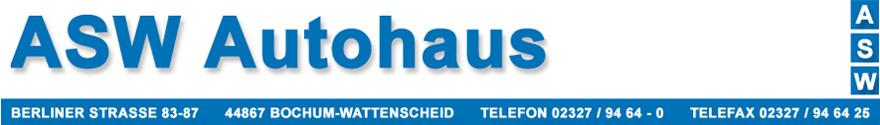 Bild zu ASW Autohaus in Bochum