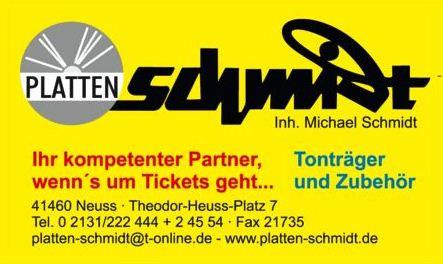 Bild zu Platten-Schmidt Ticketshop Inhaber Michael Schmidt in Neuss