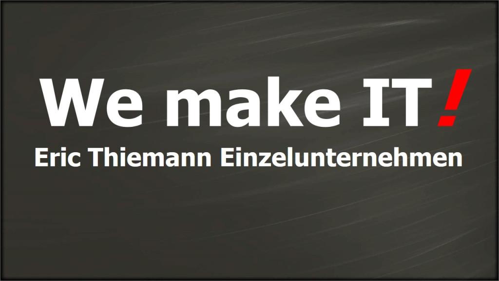 Bild zu Eric Thiemann Einzelunternehmen in Bernau bei Berlin