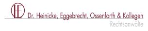 Firmenlogo: Dr.Heinicke, Eggebrecht, Ossenforth & Kollegen Rechtsanwälte