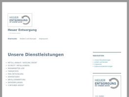Firma Heuer Entsorgung Nienhagen bei Celle