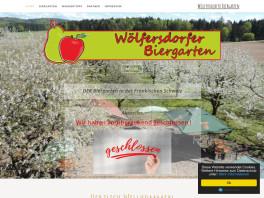 Wölfersdorfer Biergarten    Johann Deuerlein Hiltpoltstein bei Forchheim