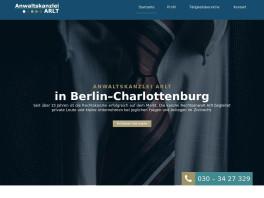 Sebastian Arlt, Rechtsanwalt Berlin