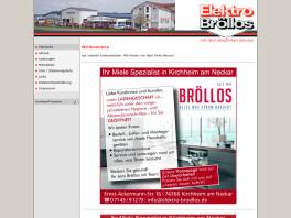 Elektro Bröllos Kirchheim am Neckar