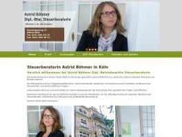 Astrid Böhmer Dipl.-Btw. Steuerberaterin Köln
