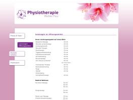 Physiotherapie Wiebke Paul Wolfsburg