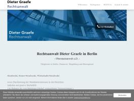 Dieter Graefe Rechtsanwalt Berlin