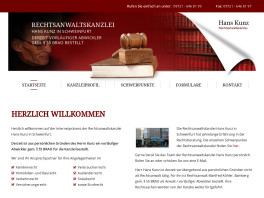 Rechtsanwaltskanzlei Hans Kunz Schweinfurt