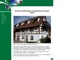 Pension Gerdi  Kosmetikstudio und Fußpflege Hechingen