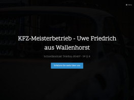 KFZ-Meisterbetrieb - Uwe Friedrich Wallenhorst