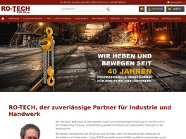 RO-TECH, Harald Rozdzynski Hebezeuge Ruhpolding
