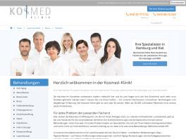 Kosmed-Klinik Hamburg Kiel Klinik für plastische Chirurgie Hamburg