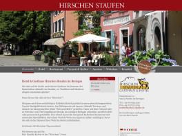 Gasthaus und Hotel Zum Hirschen Staufen im Breisgau