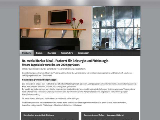 venentagesklinik ratingen dr medic marius bihoi ratingen. Black Bedroom Furniture Sets. Home Design Ideas
