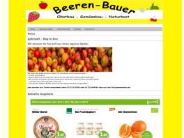 Beeren Bauer GmbH Ahorn, Baden
