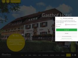 Gasthof Hotel Hirschen Kleines Wiesental