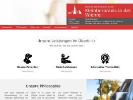 Tierarztpraxis in der Wiehre Freiburg im Breisgau