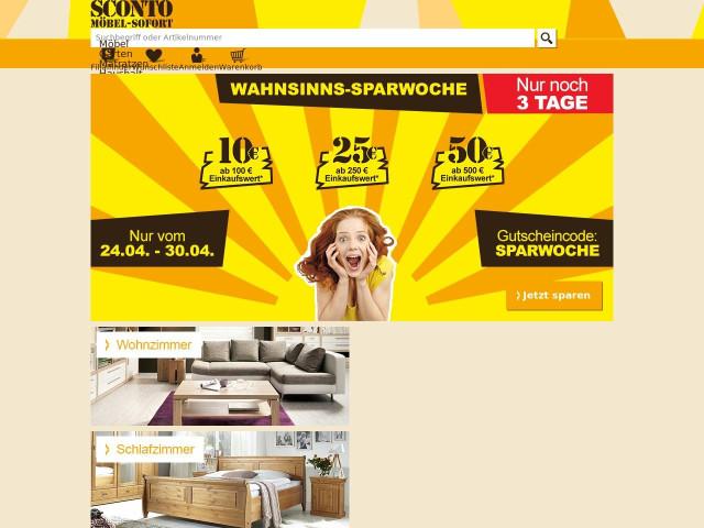 sconto sb der m belmarkt gmbh sch nefeld m belhaus. Black Bedroom Furniture Sets. Home Design Ideas