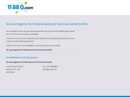 AE-event Agentur für Erlebnisevents und Tourismus GmbH Köln