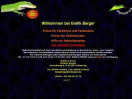 Grafik Berger Copyshop Druckerei Inhaber Norbert Berger Freilassing
