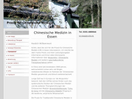 Privatärtzliche Praxis für chinesische Medizin Essen, Ruhr