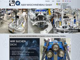 A & W Maschinenbau GmbH Thyrnau