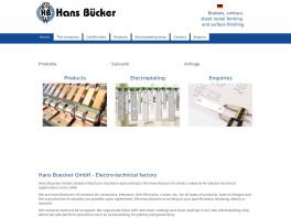 Hans Bücker GmbH Metallveredelung - Stromschienen - Kontaktteile Bochum