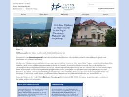 Hatax Paech & Barth PartG mbB Steuerberater Ebersberg, Oberbayern