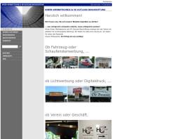 VK OutLook Beschriftung, Werbeagentur und Werbetechnik Hamburg