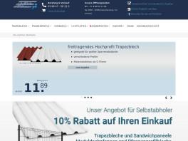 Profilbleche Dührkop GmbH Boizenburg