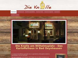 Die Knolle im Kaiserhof uG Bad Oeynhausen