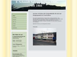 Salzniederlage F. Schmidt oHG Würzburg