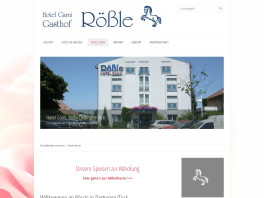 Hotel Rößle Garni Dettingen unter Teck