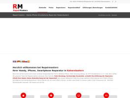 Repairmasters - Reparaturen Smartphone, Handy, Iphone, iPad, Samsung, HTC in Kaiserslautern Kaiserslautern