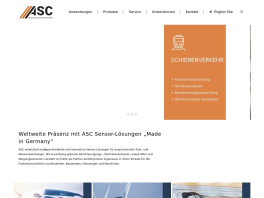 ASC GmbH Advanced Sensors & Calibration Pfaffenhofen an der Ilm