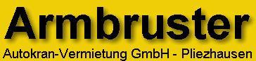Bild zu Armbruster Autokranvermietung GmbH in Pliezhausen