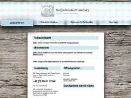 Bergwirtschaft GmbH Amberg, Oberpfalz