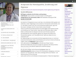Rolf Küpper Arzt f. Homöopathie Hypnose Ernährungsberatung Bergisch Gladbach