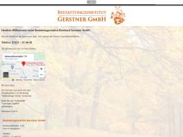 Bestattungsinstitut Reinhard Gerstner GmbH Pforzheim