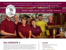 Seerestaurant & Cafe Augustas Inh. Eßmann & Rotzoll GbR Neubrandenburg, Mecklenburg