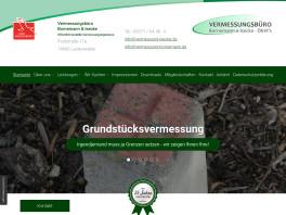 Vermessungsbüro Bornemann & Isecke Luckenwalde