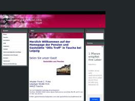"""Gaststätte und Pension """"Ollis Treff"""" Taucha bei Leipzig"""