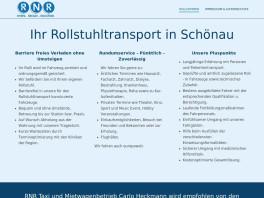 RNR Taxi- und Mietwagenbetrieb Carlo Heckmann Schönau, Odenwald