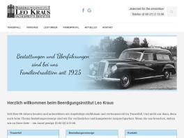 Pietät Beerdigungsinstitut Leo Kraus GmbH Aschaffenburg