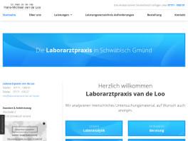Dr. Dr. med. Hans-Michael van de Loo Facharzt f. Laboratoriumsmedizin Schwäbisch Gmünd