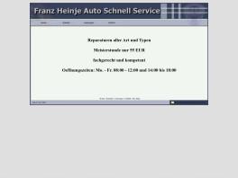 Franz Heinje Autoschnellservice Rastede