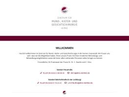 Praxis für Mund-,Kiefer-,Gesichtschirurgie Dr.Dr.Christian Rasche Herne, Westfalen